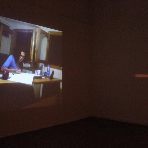 Dina Kafafi's studio