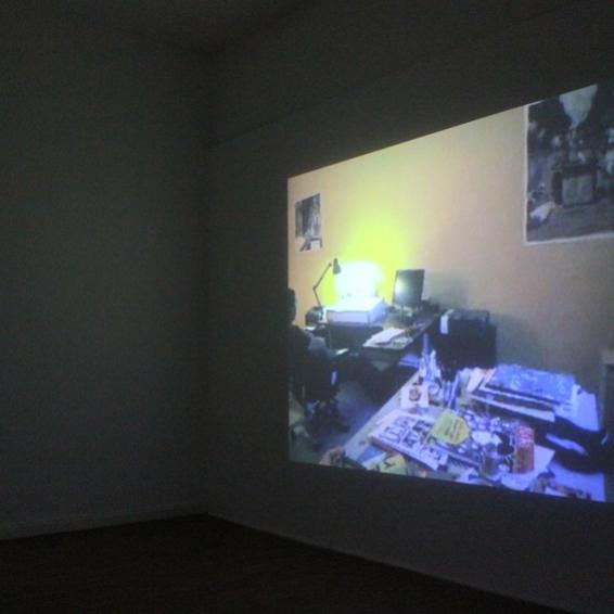 Mohammed Shennawy's studio