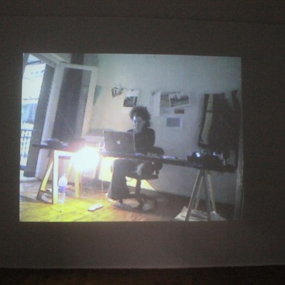 Amira Hanafi's studio